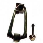 Art Deco Brass Door Knocker ADK082