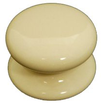 Romsey Classic Cream Porcelain Knob DP039