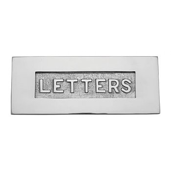 Victorian Chrome Letterbox EOL28