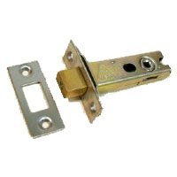 Nickel Plated Tubular Mortice Latch RL031