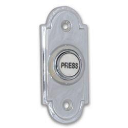 Polished Chrome Doorbell