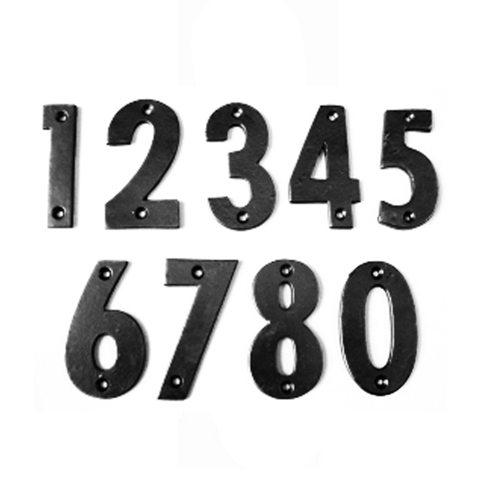 Antique Black Door Numbers  sc 1 st  Snobs Knobs & SnobsKnobs Antique Black Door Numbers - SnobsKnobs pezcame.com