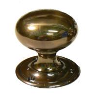 Camelot Applied Bronze Doorknobs