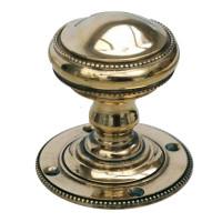 Pair Of Blenhiem Brass Mortice Knobs