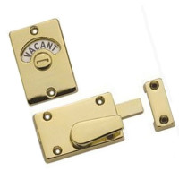 Privacy Brass Indicator Bolt