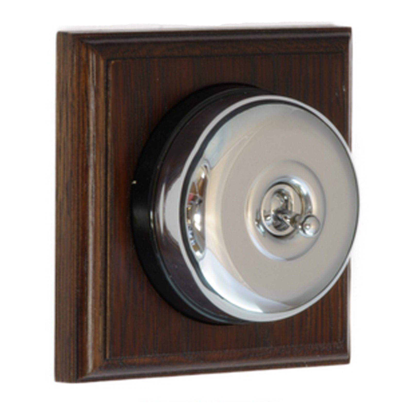 Chrome Domed Light Switch