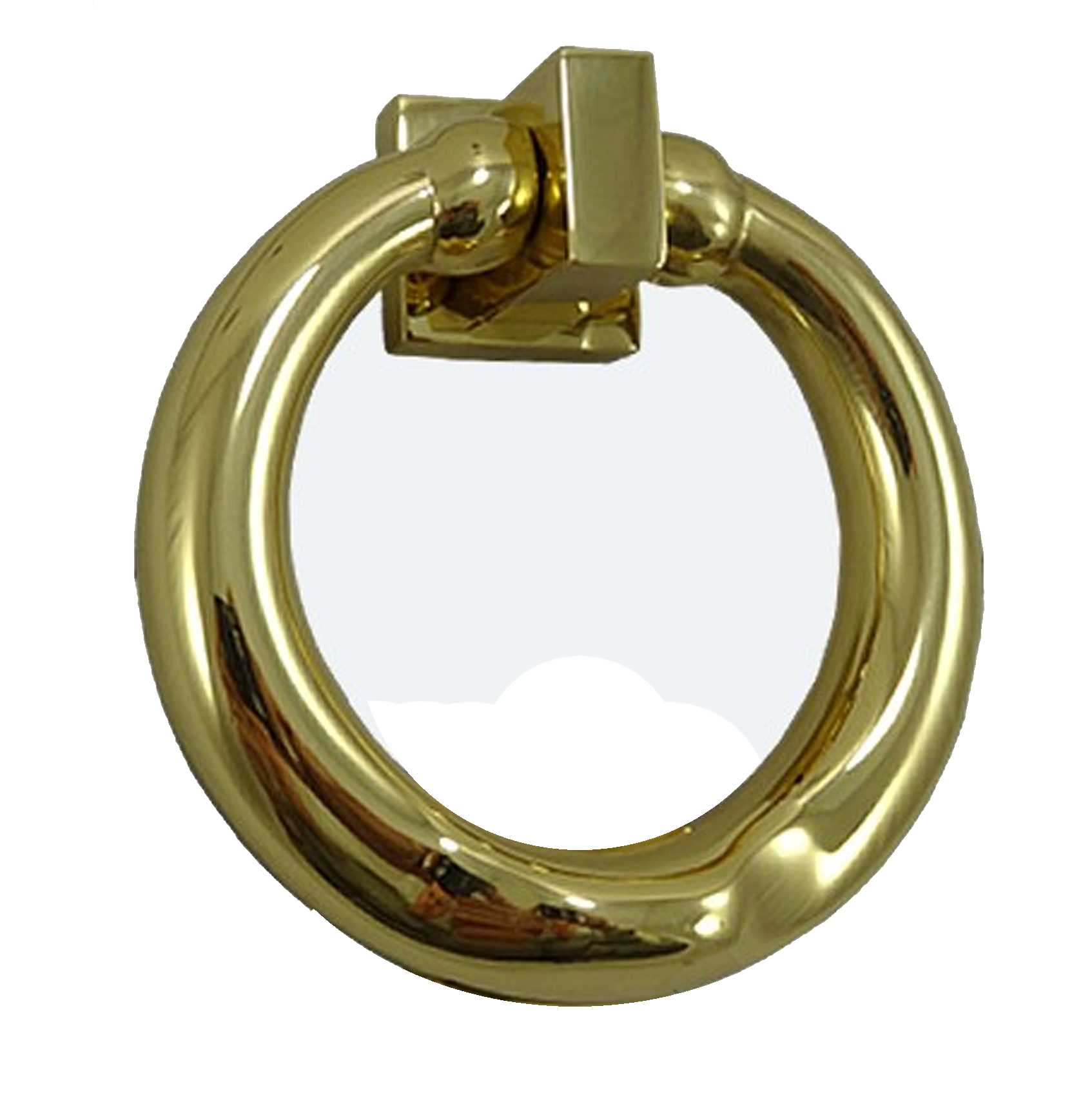 Snobsknobs Victorian Brass Ring Knocker Snobsknobs