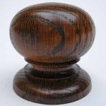 Chunky Dark Oak Cupboard Knob DP073