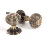 Early Victorian Beehive Knobs