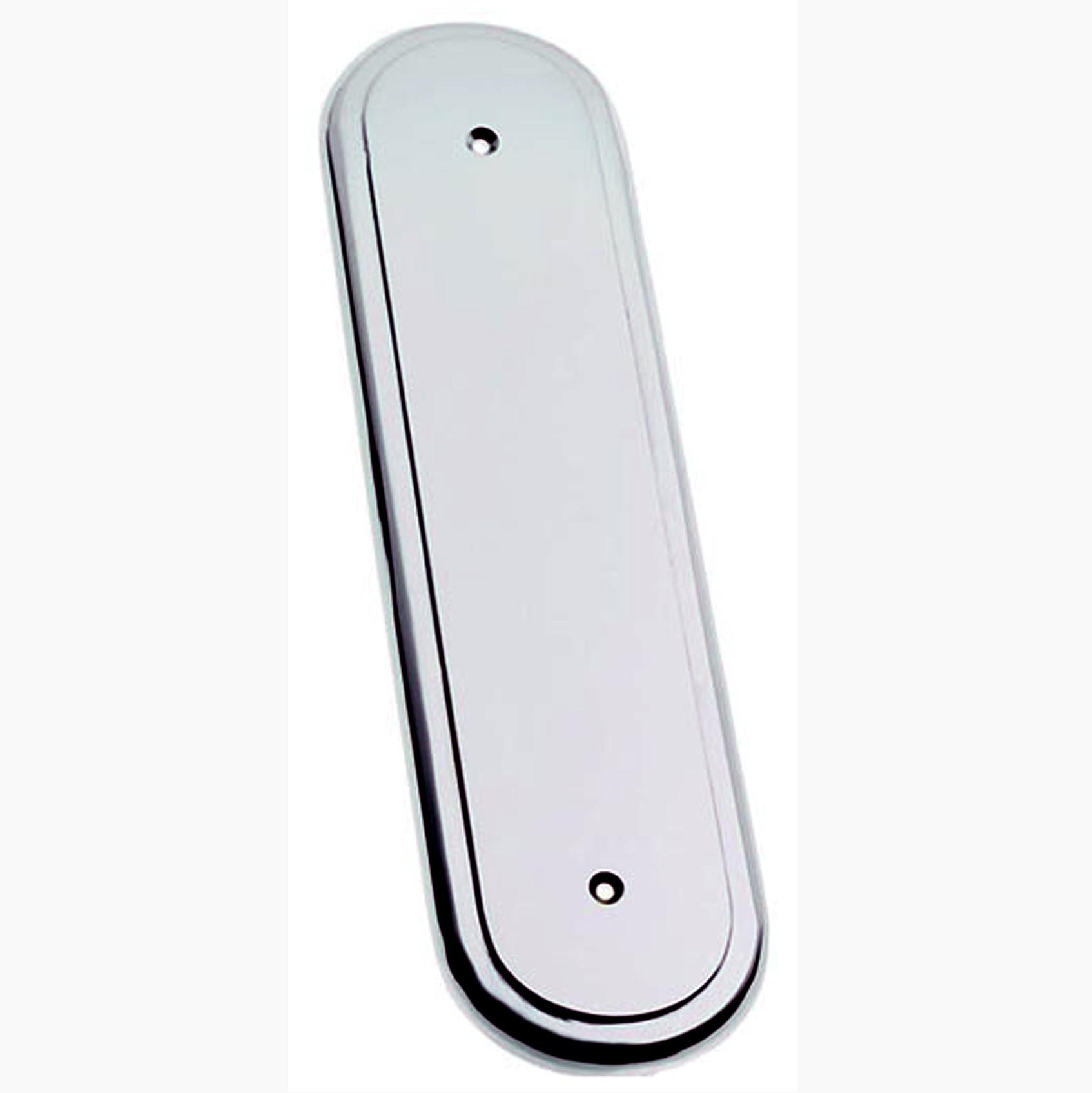Avon Polished Chrome Fingerplate