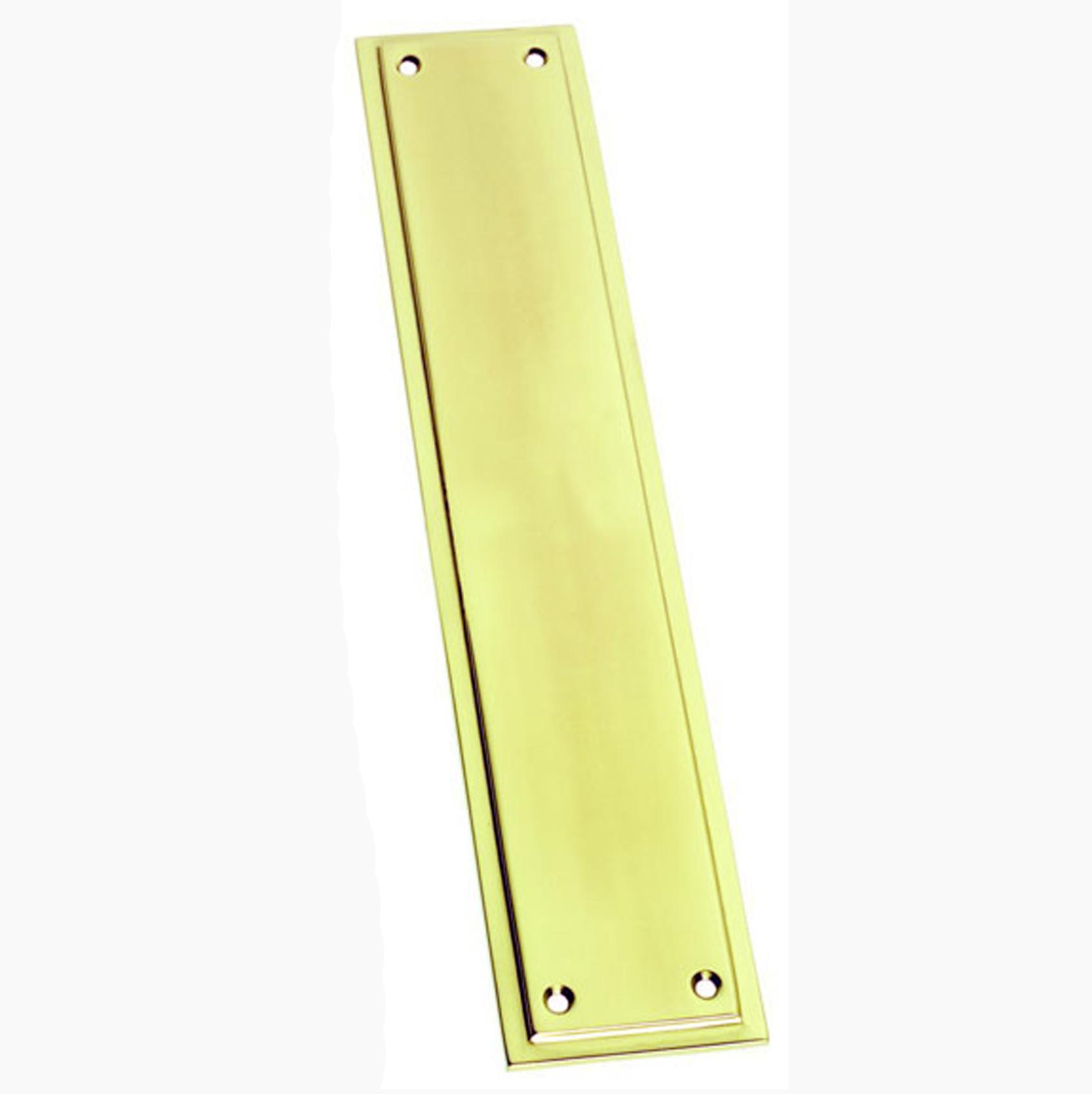 Brass Finger Plate Victorian