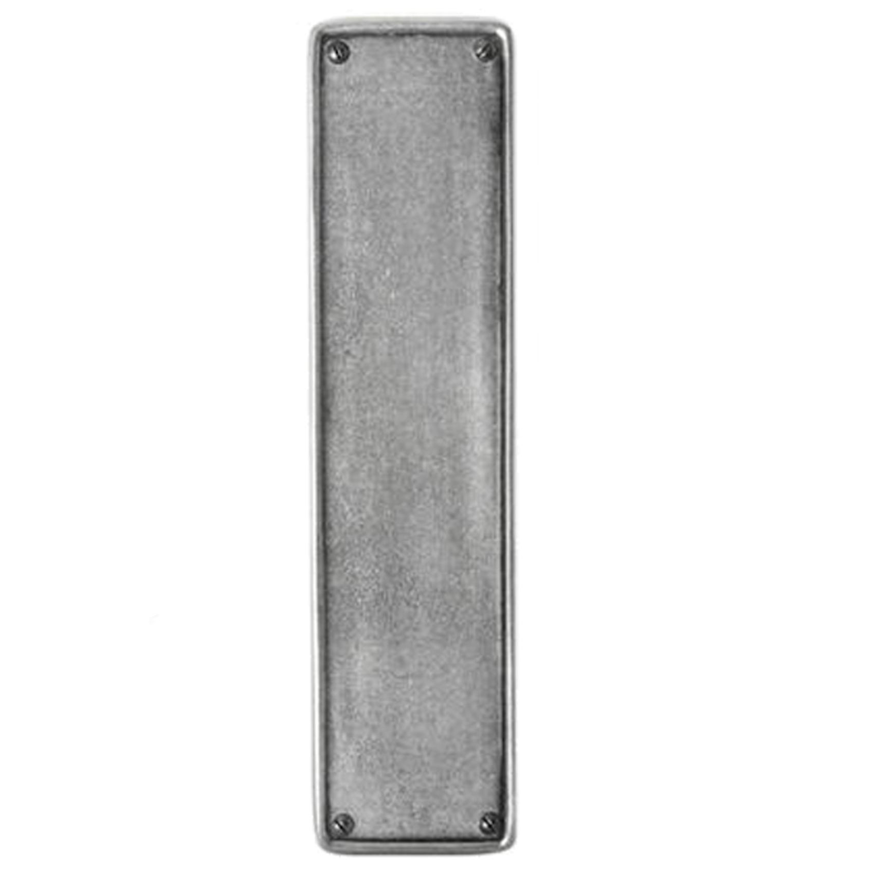 Pewter Door Push Plate