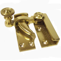 Georgian Brass Sash Window Fastener
