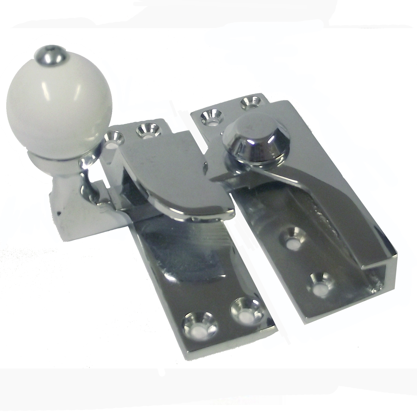 Holyrood Chrome Sash Window Fastener