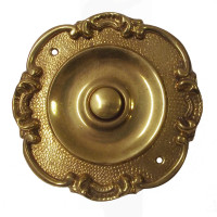 Lorena Decorative Brass Doorbell