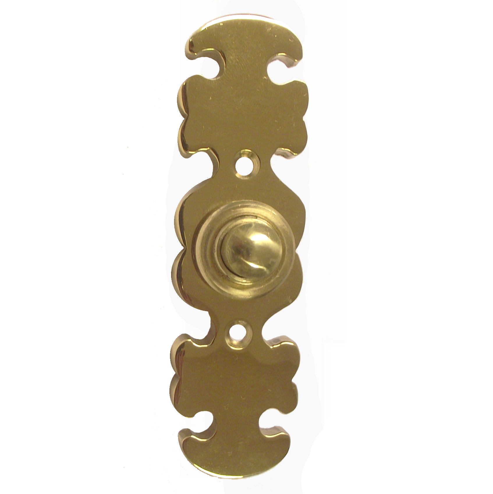 Oakleaf Brass Doorbell