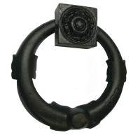 Victorian Cast Iron Door Knocker Fully Restored