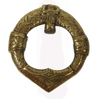 Viking Brass Door Knocker