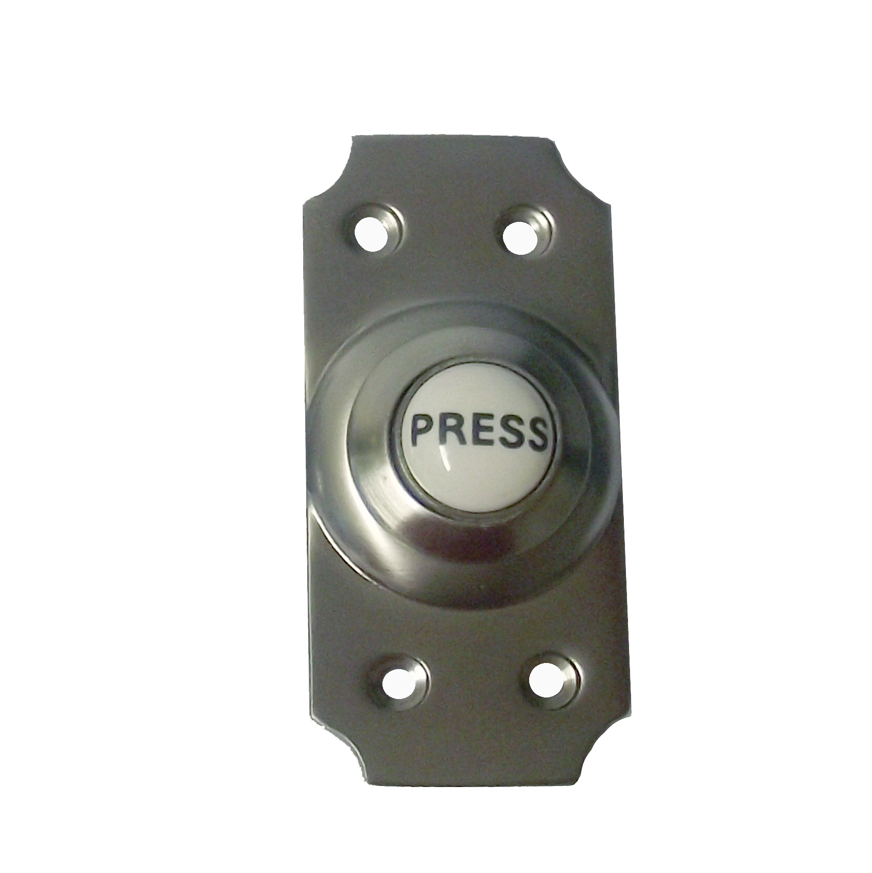 Viscount Brushed Nickel Doorbell