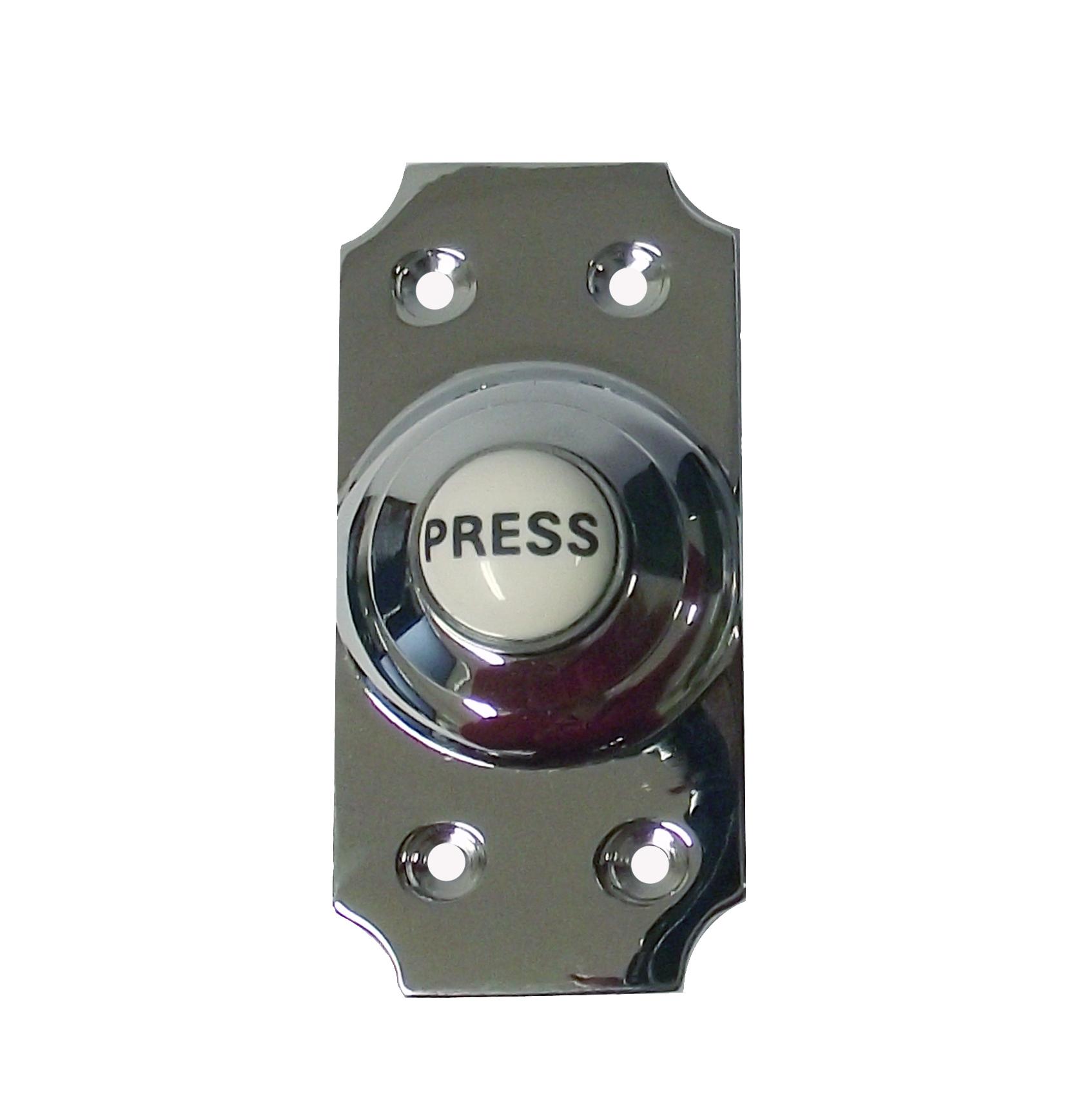 Viscount Chrome Doorbell