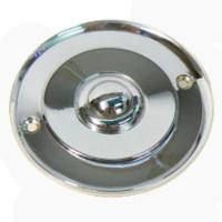 Waldorf Chrome Doorbell 100mm Dia