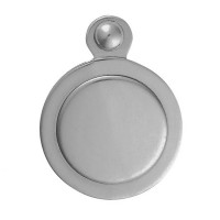Victorian Polished Chrome Escutcheon